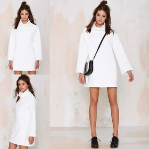 Nasty Gal -The Fifth Watchtower Shift Dress- Ivory